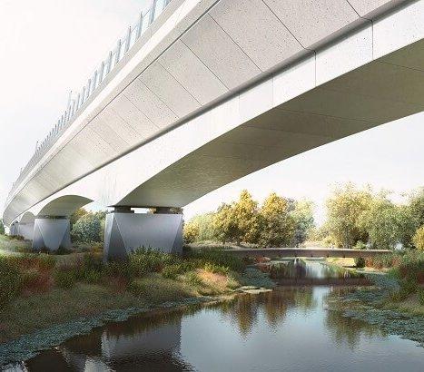 Rozpoczęła się budowa najdłuższego mostu kolejowego w Wielkiej Brytanii