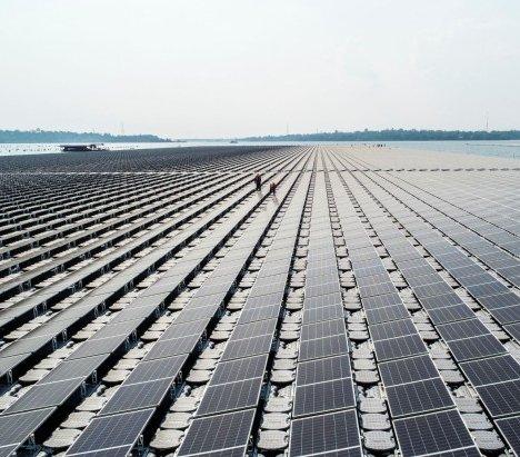 Tajlandia: największa na świecie instalacja hydro-solarna