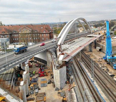 Gdańsk: zamknięta nitka wiaduktu Biskupia Górka