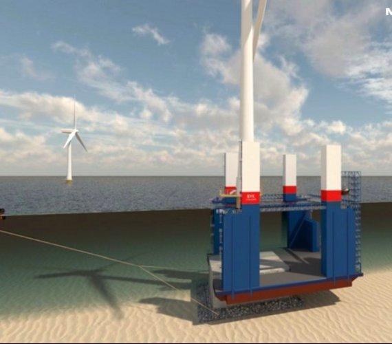 Polska spółka chce produkować fundamenty dla morskich farm wiatrowych