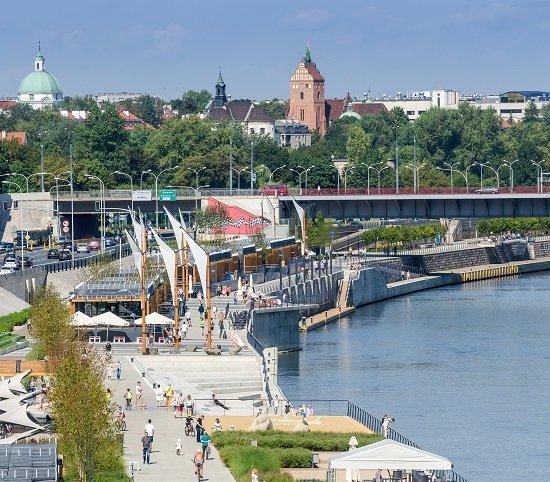 Warszawa ogłasza przetarg na budowę kładki przez Wisłę