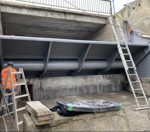 Witoszówka II – budowla zrzutowa ma nowe zamknięcia