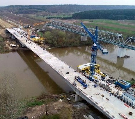 S19: jak wygląda plac budowy mostu przez San?