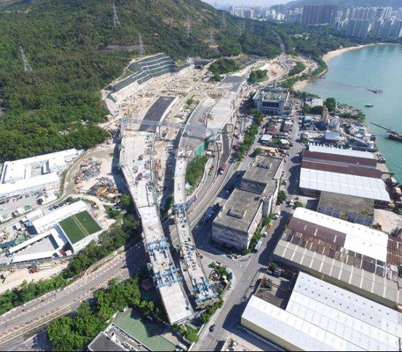 Hongkong: autostrada z innowacyjnym podmorskim tunelem