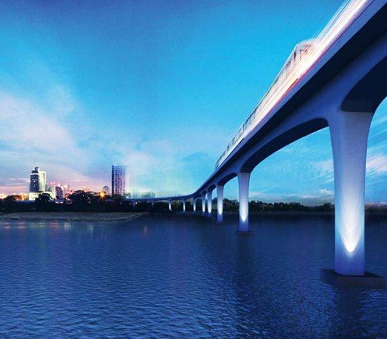 Tunel i most połączą Singapur z Malezją