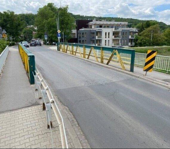 Kraków: mostnad Rudawą zamknięty
