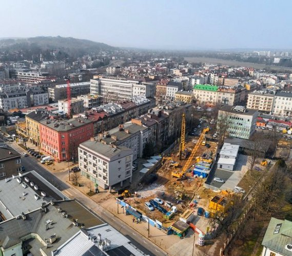 Kraków: ściany szczelinowe w ścisłej zabudowie miejskiej