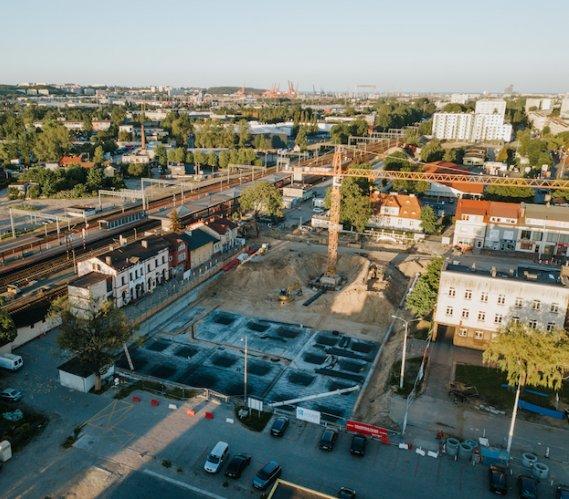 Budowa węzła integracyjnego Gdynia–Chylonia na finiszu prac