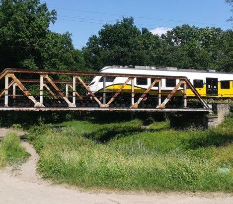 Przebudowa przepraw na linii kolejowej między Wrocławiem a Jelczem