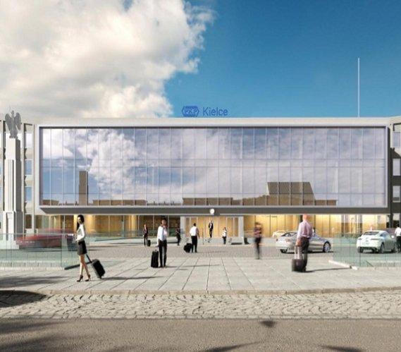 Modernizacja dworca kolejowego w Kielcach
