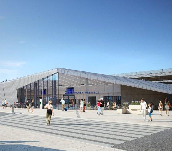 Gdańsk Wrzeszcz: rozpoczyna się przebudowa ważnego dworca
