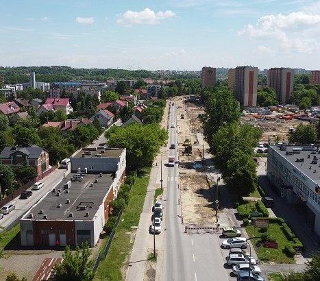 Kraków: budowa Trasy Wolbromskiej z dofinansowaniem