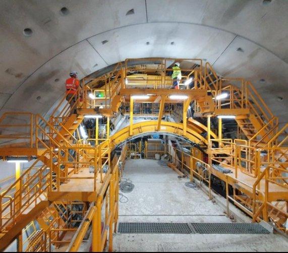 Tunel w Świnoujściu: połowa już wydrążona [zdjęcia]