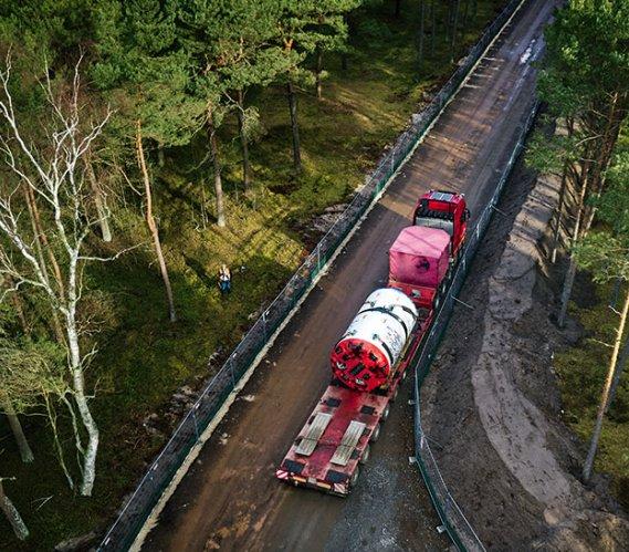 Gazociąg Baltic Pipe: bezwykopowy  początek