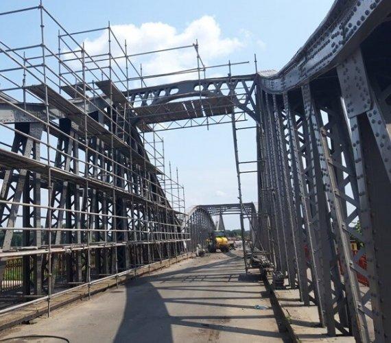 Zasadniczy remont mostu w Ścinawie
