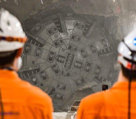 Australia: przebicie tunelu w ramach projektu Cross River Rail [wideo]