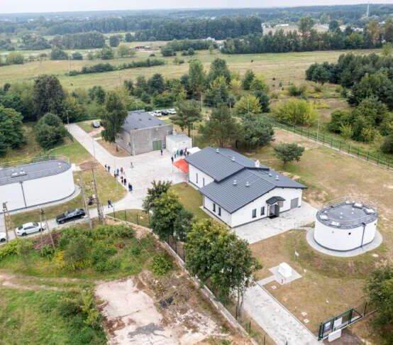 Zmodernizowano stację uzdatniana dla lewobrzeżnej części Płocka