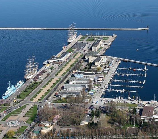 Port Gdynia: nowa obrotnica pozwoli obsługiwać większe statki