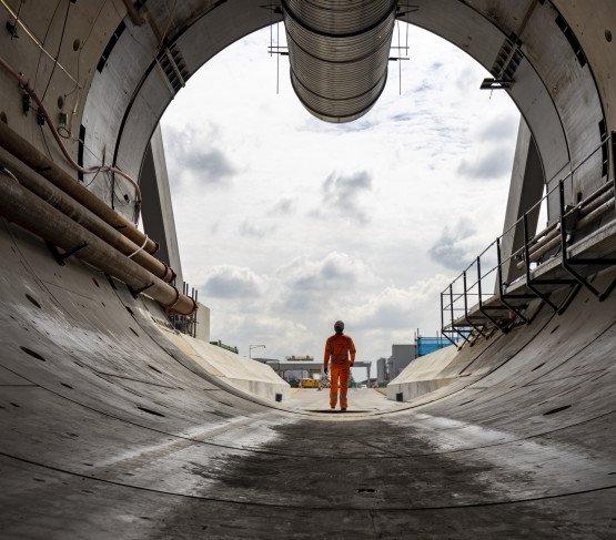 HS2: pierwsza mila tunelu kolejowego na obrzeżach Londynu wydrążona