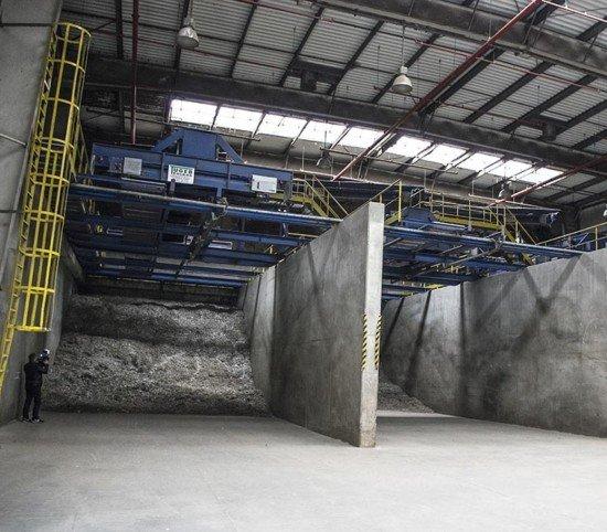 Hermetyzacja zakładu przetwarzania odpadów MPGK w Katowicach