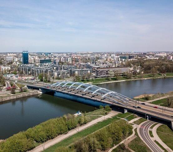 Kraków: prace naprawcze na moście Kotlarskim