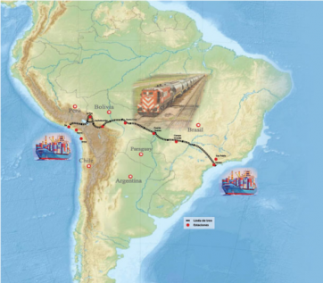 Ameryka Południowa: transkontynentalna linia kolejowa z tunelami w Peru