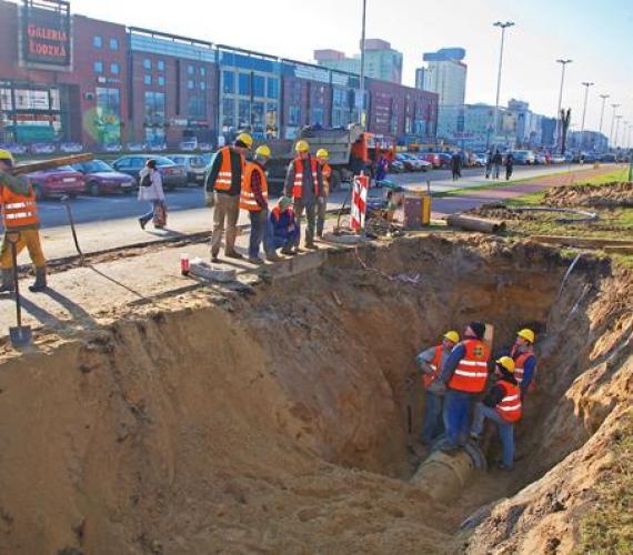 Bezwykopowa renowacja sieci w Łodzi