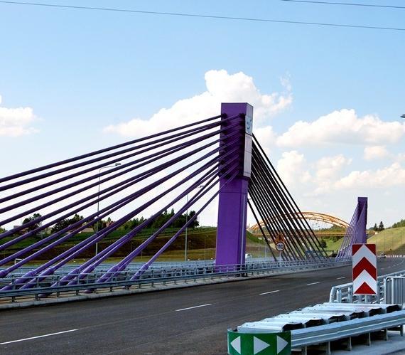 Most w Mszanie w ciągu A1. Fot. GDDKiA