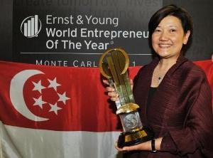 Szefowa singapurskiej spółki wodnej Przedsiębiorcą Roku 2011