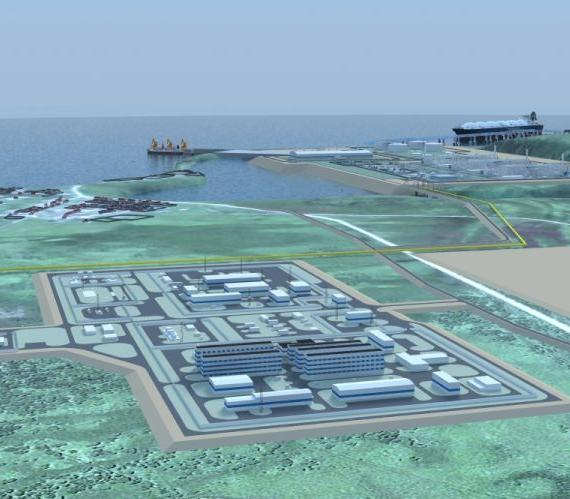 Terminal LNG we Władywostoku