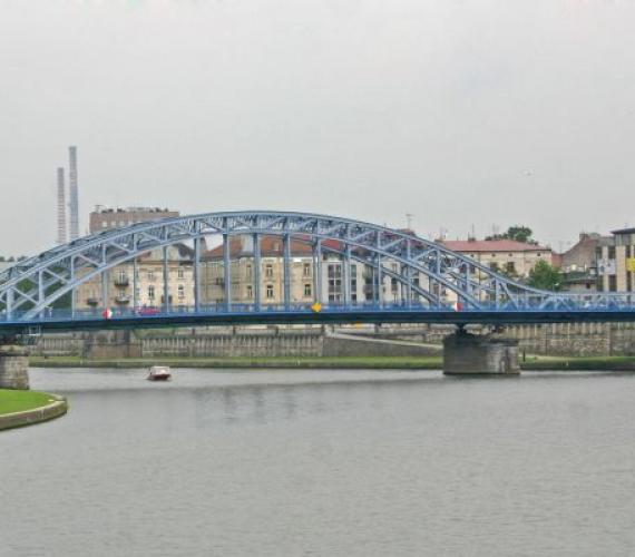 Most Piłsudskiego w Krakowie. Fot. inzynieria.com