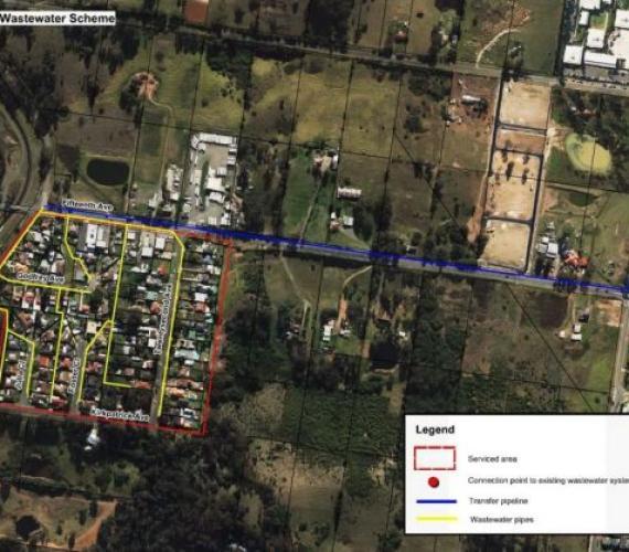 Trzy projekty kanalizacyjne Sydney Water