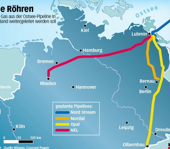 Budowa gazociągu NEL w Niemczech rozpocznie się w marcu