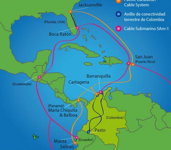Nowy telekomunikacyjny system na Karaibach