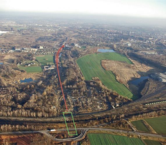 Technologia posadowienia tymczasowych wiaduktów kolejowych na ściankach szczelnych