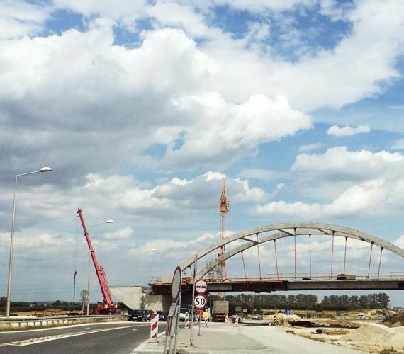 Budowa trasy S7 w woj. świetokrzyskim. Fot. inzynieria.com