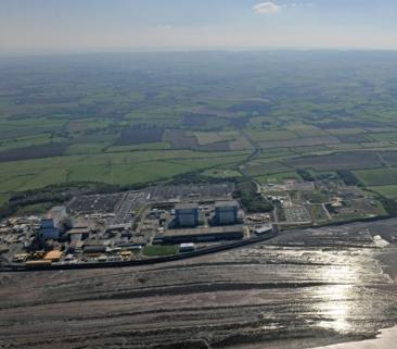 9,5 km tuneli, w tym podmorskie, dla brytyjskiej elektrowni jądrowej