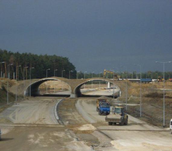 Odcinek A4 Szarów - Tarnów przejezdny w tym roku?
