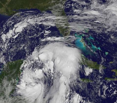 USA: huragan Nate przyniósł deszcz i… podwyżkę ropy