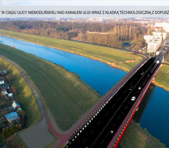 Nowy most w Opolu. Źródło: opole.pl