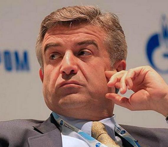 Armenia: były menadżer Gazpromu premierem państwa