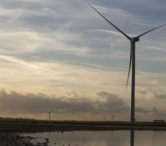 Turbina wiatrowa ECO122 w Holandii. Fot. Alstom