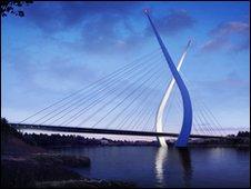 Sunderland planuje most podwieszony