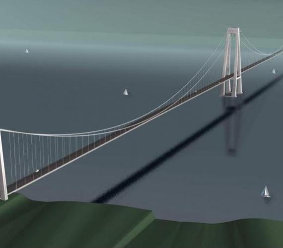 Chilijski Chacao Bridge