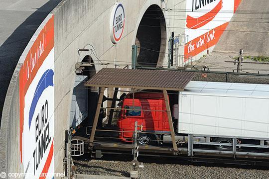 Utrudnienia w Eurotunelu