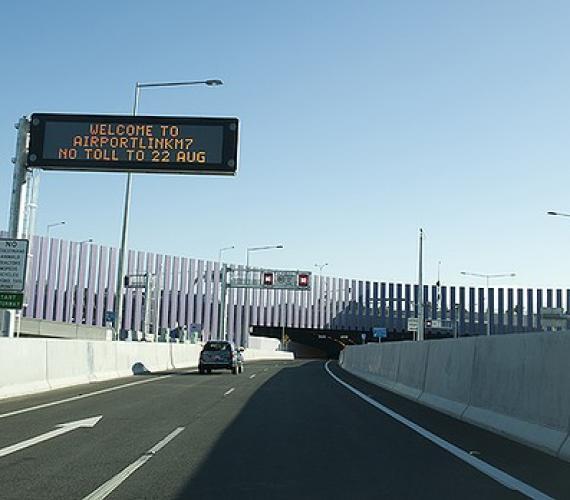 Imponujący tunel w Brisbane otwarty