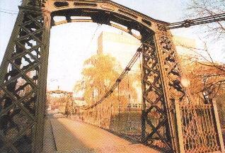 Najstarszy żelazny most w Europie atrakcją turystyczną Ozimka