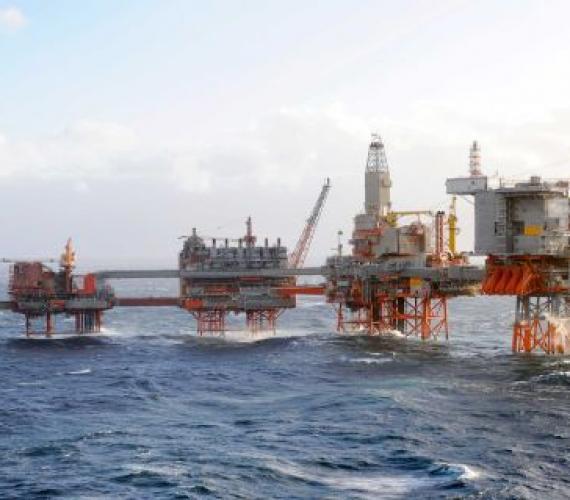 BP uruchomiło ponownie produkcję z platformy Valhall