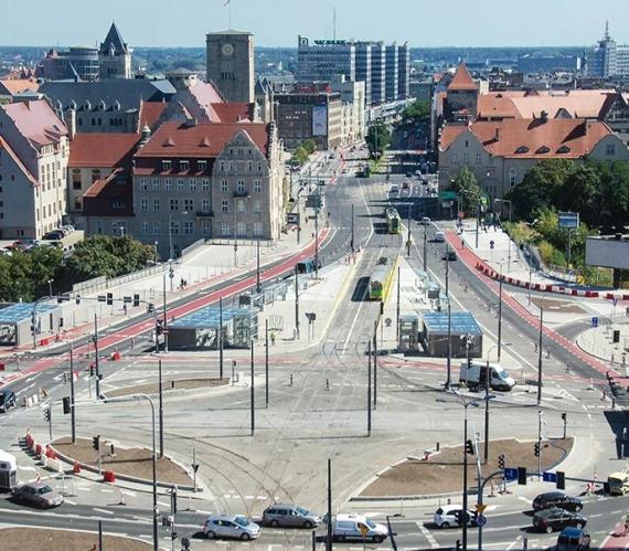 Rondo Kaponiera. Fot. Urząd Miasta Poznania