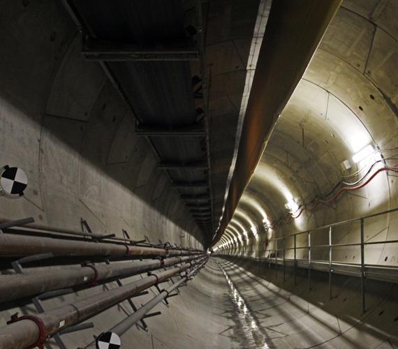 Ponad 9 km tuneli centralnego odcinka II linii metra